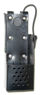 WAVEBAND LEATHER CASE WITH CLIP THAT FITS M/A-COM Jaguar 700P / P7100IP/ P5100 WB