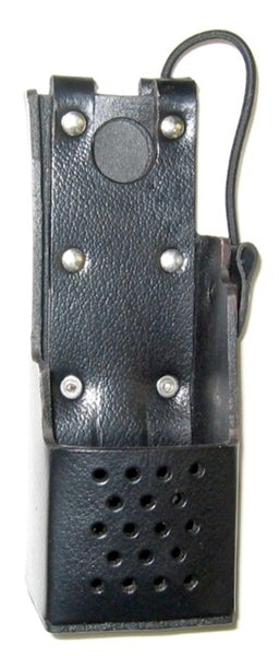 WAVEBAND LEATHER CASE WITH CLIP THAT FITS M/A-COM Jaguar 700P / P7100IP/ P5100 WB# WV-5151B-C