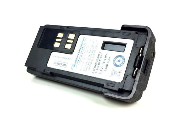 BATTERY FOR MOTOROLA APX4000 - 7.2 V / 2500 mAh / 18.0 Wh / Li-Ion - Waveband Communications