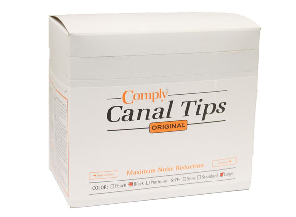 Comply ™ Canal Tips Spenderbox. 100 Ohrstöpsel
