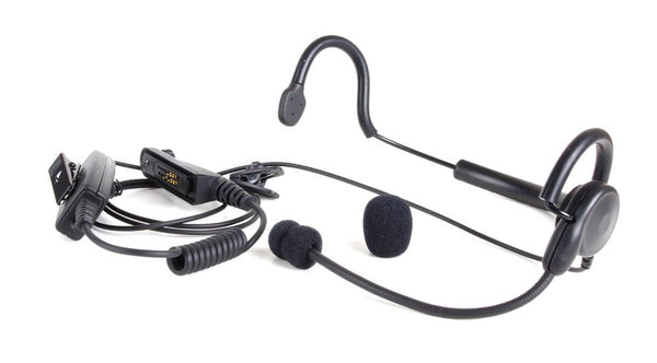 WV-16050-R-KNG Behind the head headset - Waveband Communications
