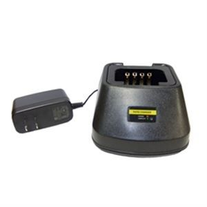 Single Pocket Desktop Charger for Harris XL-185 Portable Radio - Waveband Communications