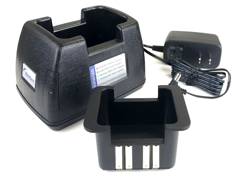 Waveband single station charger for MOTOROLA APX 4000 SERIES RADIO. WB