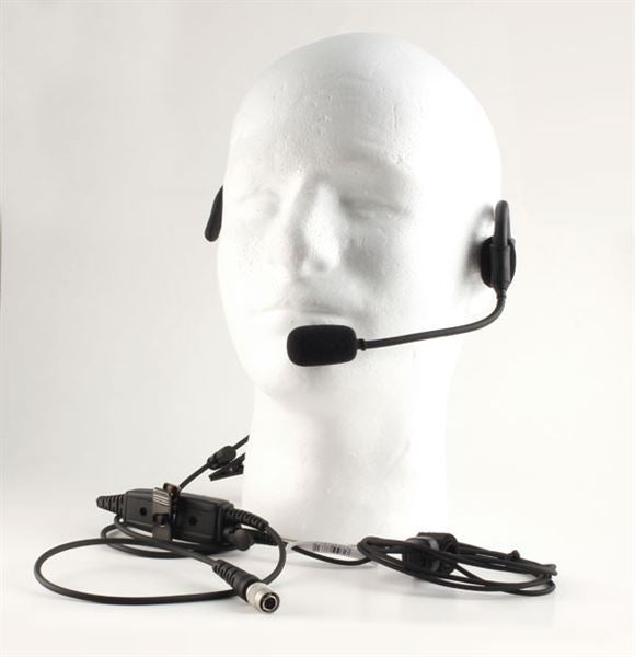 Kenwood TK3180 Compatible Quick Disconnect Headset