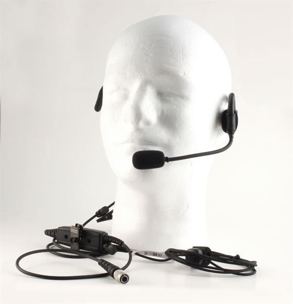 Kenwood NX-410 Compatible Quick Disconnect Headset