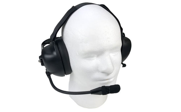 Noise Cancelling Headset for Harris M/A-Com XG-100P, XL-185P, XL-200P - Waveband Communications