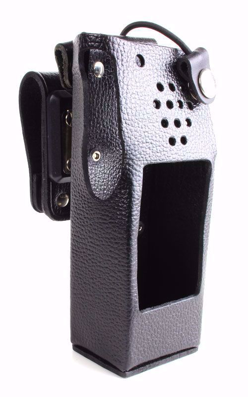 Leather Swivel Case for Motorola XTS 5000 - Waveband Communications