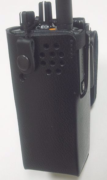 Motorola XPR 7350 Leather Belt Loop Case - Waveband Communications