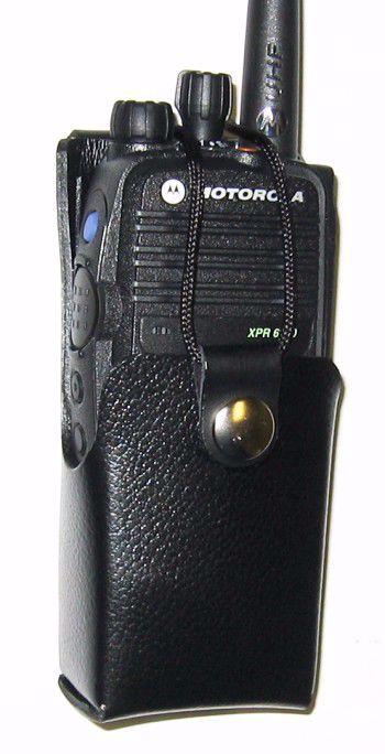 Motorola XPR 6100 Leather Belt Loop Case (1500mAh) - Waveband Communications
