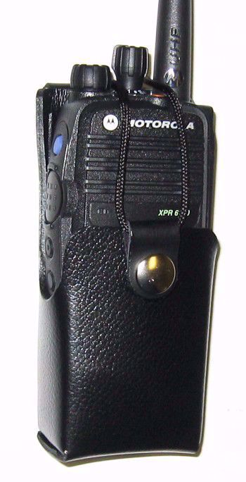 Motorola XPR 6100 Leather Swivel Case (1500mAh) - Waveband Communications