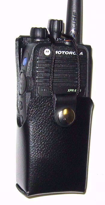 Motorola XPR 6300 Leather Belt Loop Case (2150mAh)