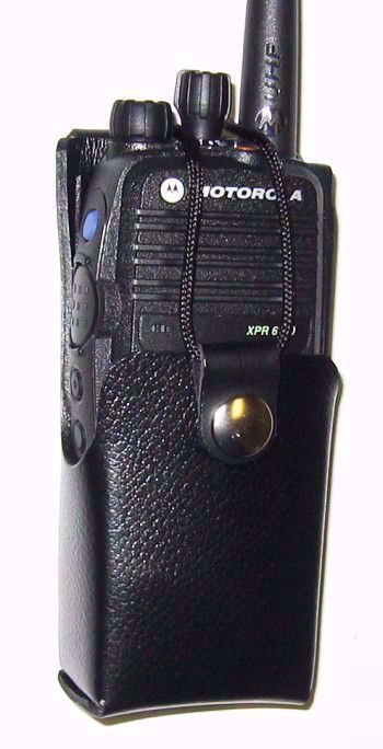 Motorola XPR 6300 Leather Swivel Case (2150mAh)