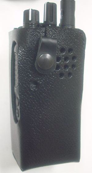 Motorola XPR 3300 Leather Swivel Case
