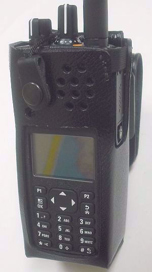Motorola XPR 7580 Leather Swivel Case