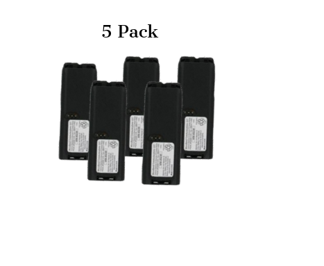 Motorola RNN4006B Compatible Battery for Motorola XTS3000 & XTS5000 Radios. (Bundle of 5)