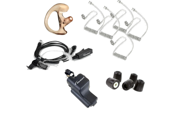 Covert Communications bundle kit for Motorola XTS Series Portable radios.