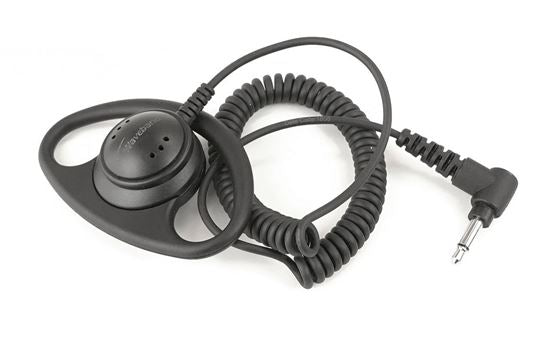 Dshape receive-only earpiece include with Harris XL-200P Lapel mic