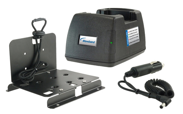 Waveband IN-VEHICLE CHARGER FOR HARRIS XG-75 SERIES. WB#P5400CC-Tri - Waveband Communications