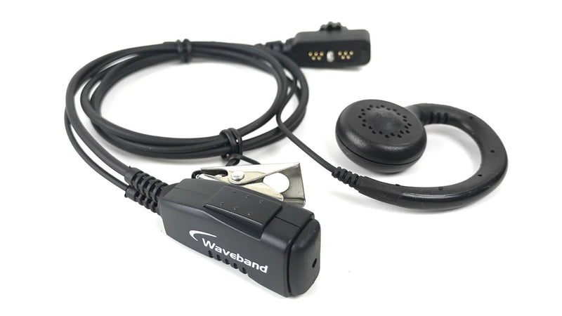1 Wire Surveillance Kit With PTT and  Curl Earpiece For The SONIM XP5, XP6, XP7