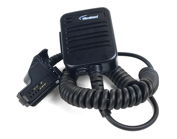 EF Johnson P5100 Remote Speaker Microphone, EF Johnson P5100 Handheld Radio Lapel Mic, ef johnson lapel mic, EF Johnson VP900 Mic. 589-0015-056 (ES), 589-0015-057 (ES), 589-3015-05218 (ES), 589-3600-05218 (V) - Waveband Communications