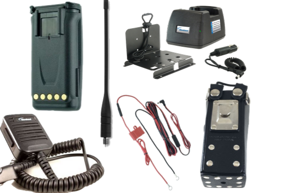 Harris Ma/Com P7300 6 Piece Bundle - Waveband Communications