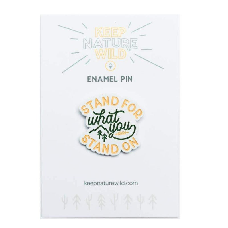 Stand For | Enamel Pin