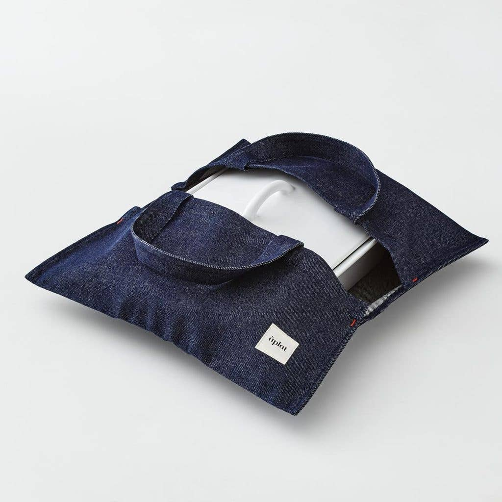 Culinary Tote - Wide Denim