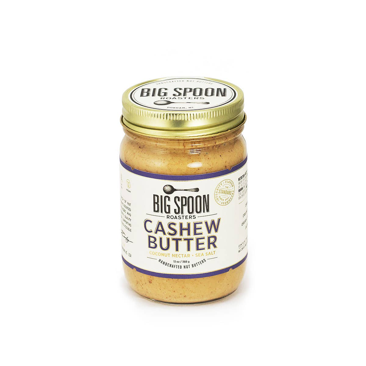 Cashew Butter with Coconut Nectar & Sea Salt
