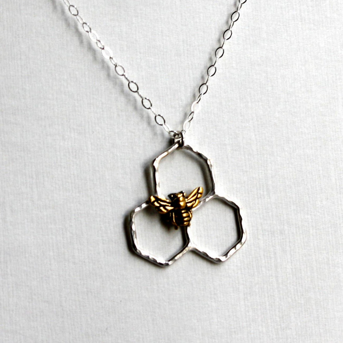 Mini Honeycomb Necklace