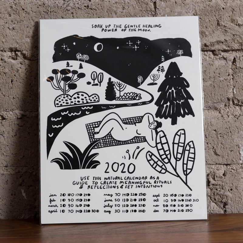 Soak Up The Moon 2020 Calendar