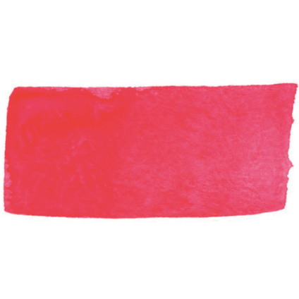 Fluorescent Flame Red Individual Watercolor
