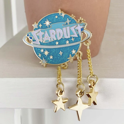 Stardust Marquee With Stars Pin