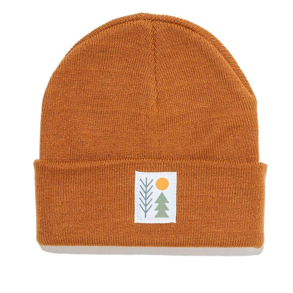 Evergreen Cuffed Beanie | Copper