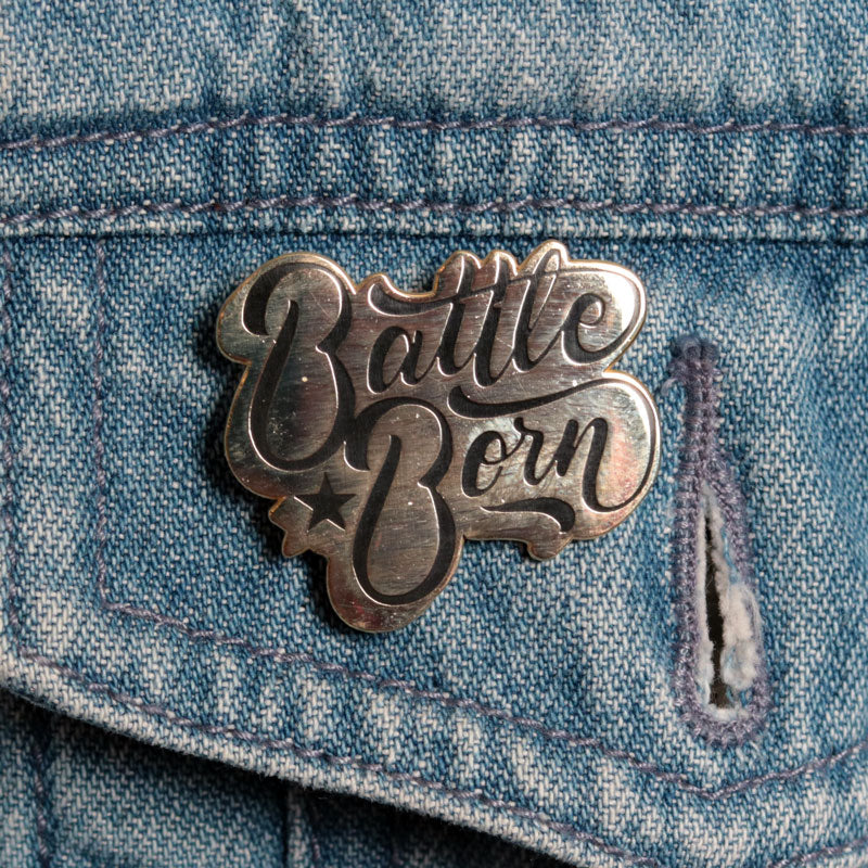 Battle Born Pin