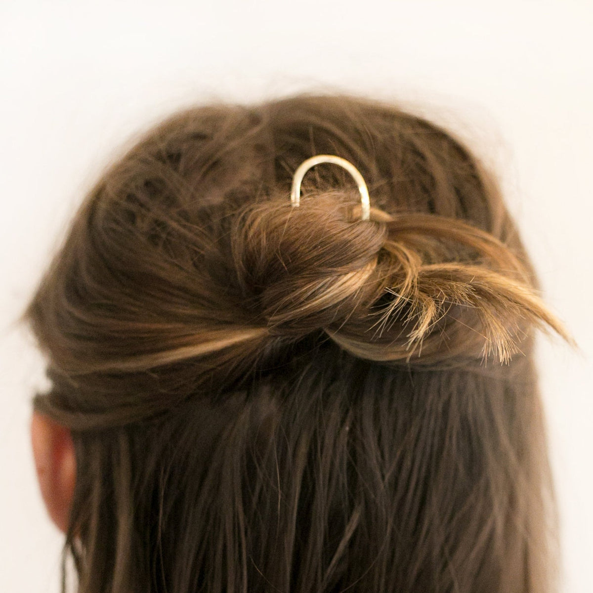 Solid Brass Hair Pin
