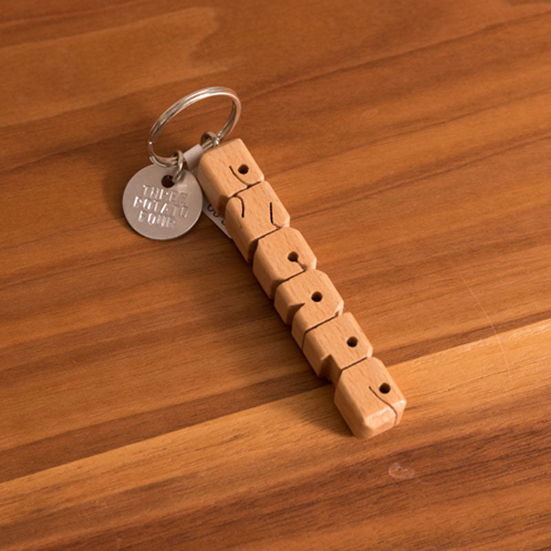 Escape Wooden Keychain