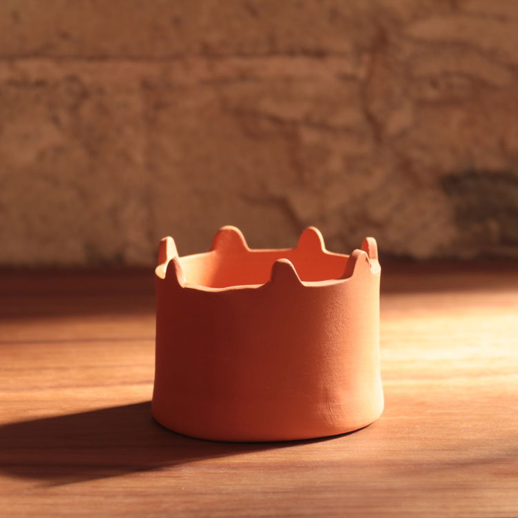 Small Red Planter
