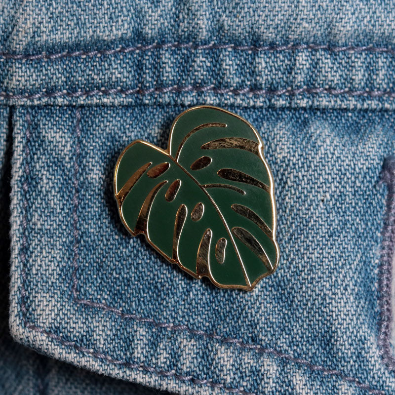 Monstera Leaf Pin