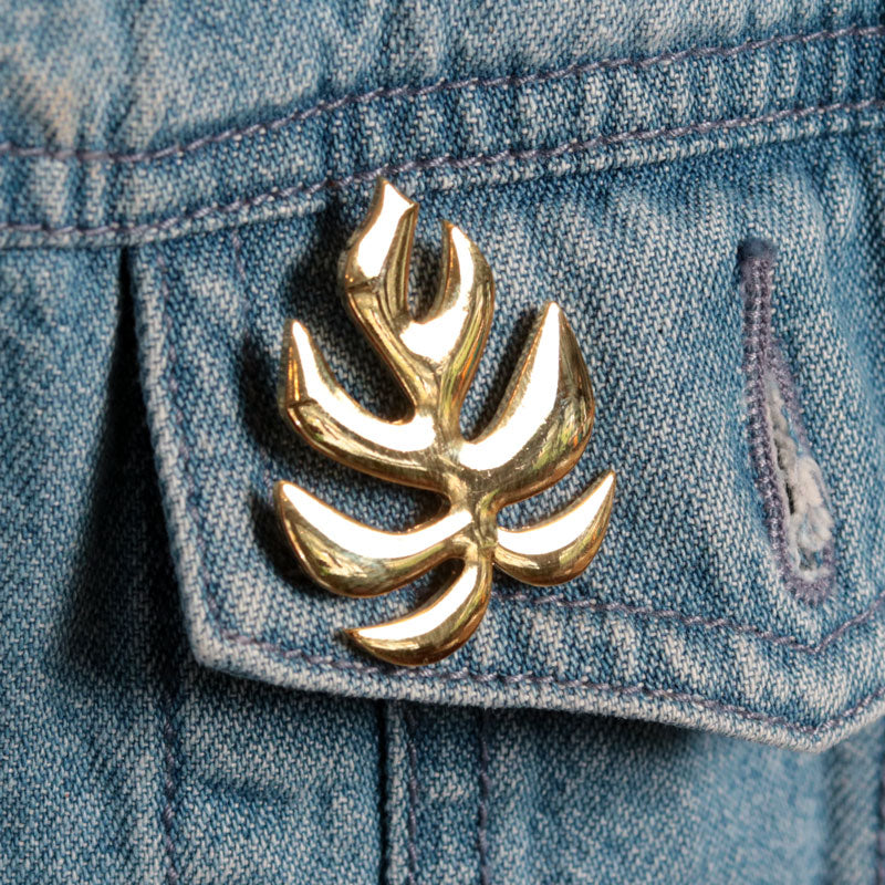 "Monstera ""Ginny"" Pin"