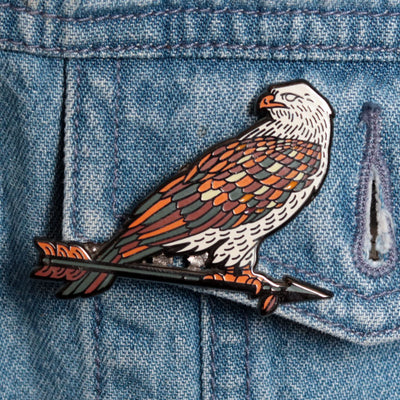 Predatory Bird Pins by The Bungaloo