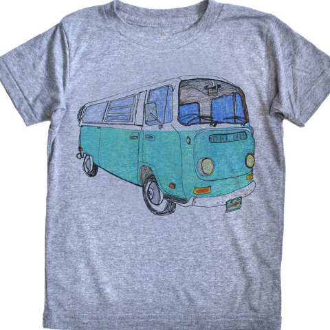 Venice Wheels Adult Tri-blend Tee