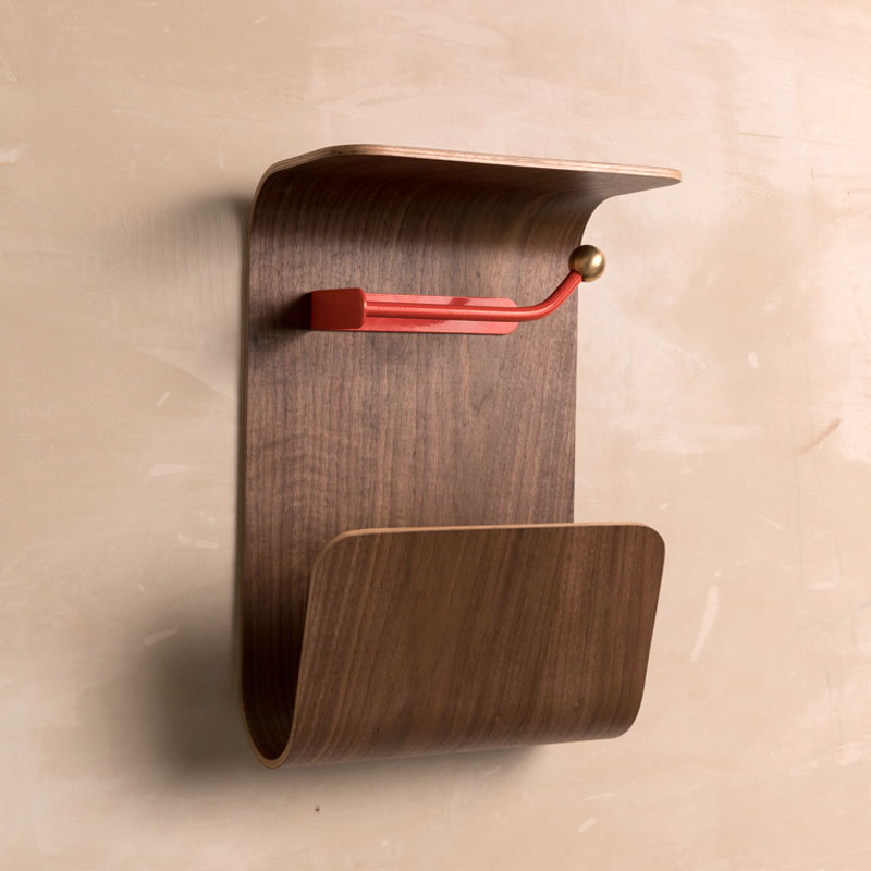 Wall Shelf Magazine Rack