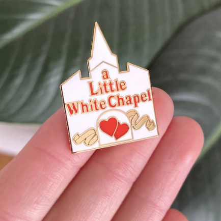 A Little White Chapel Pin