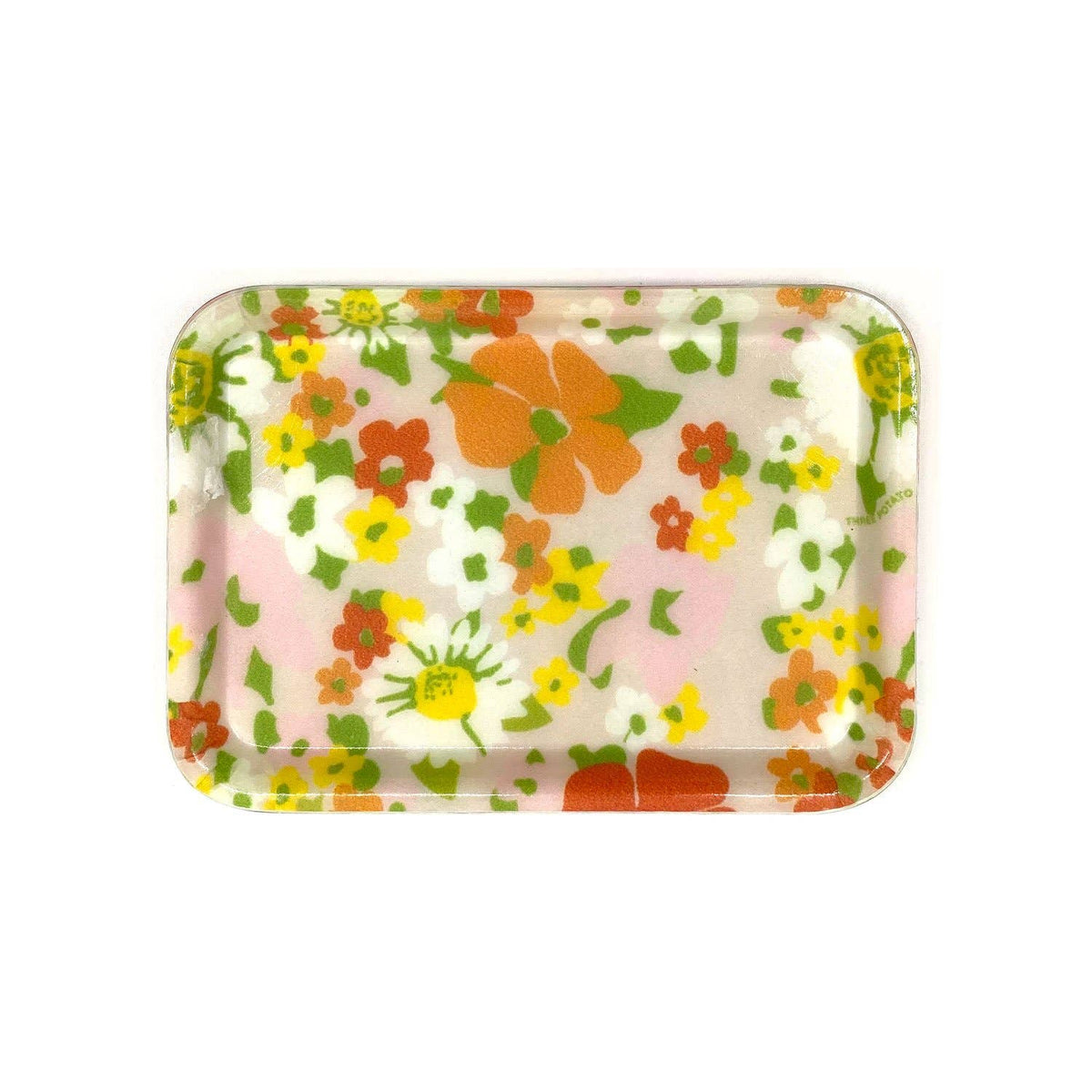 Small Trinket Tray - Wildflowers