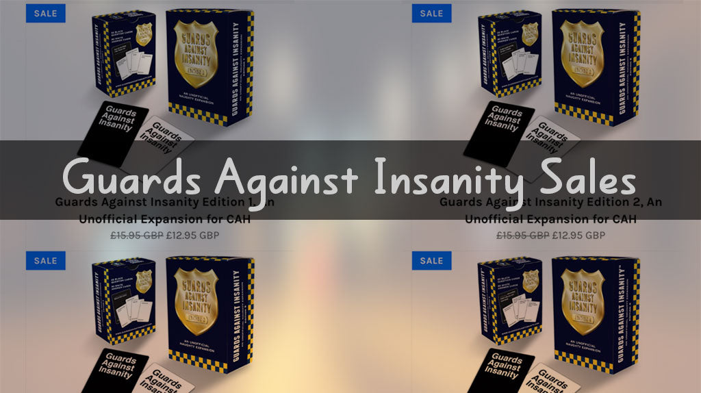Guards Against Insanity Sales - Up to 40% OFF