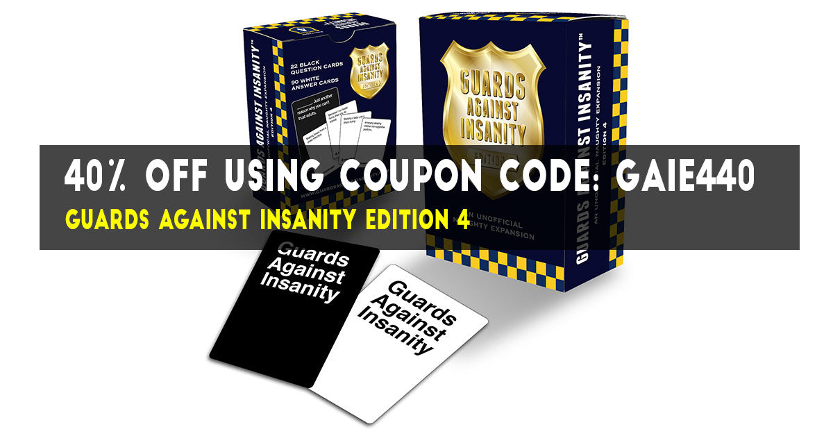Guards Against Insanity Edition 4 Coupon Code