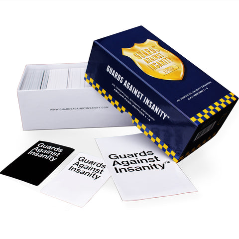Guards Against Insanity - Cards Against Humanity unofficial third-party expansions