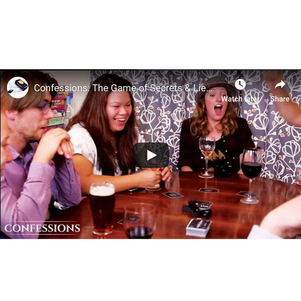 Confessions: The Game of Secrets & Lies, A Fun Adult Party Card Game
