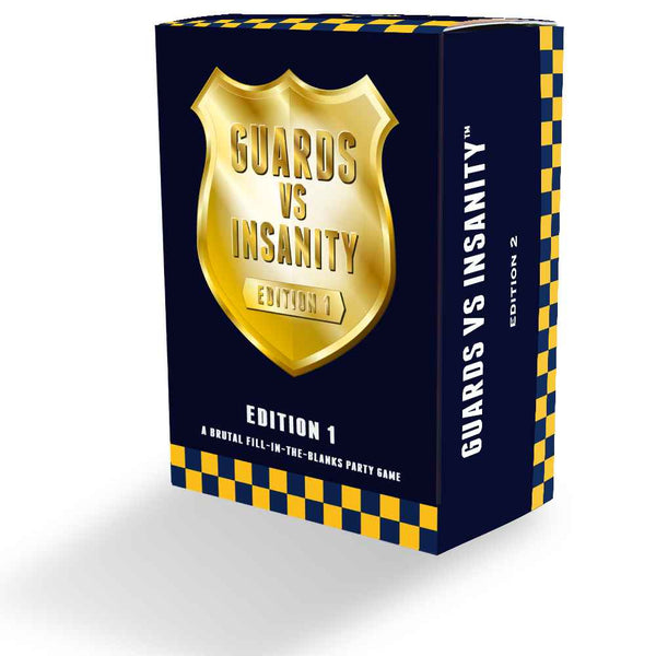 Guards Vs Insanity Ultimate Pack Includes Editions 1, 2, 3, 4 & 5
