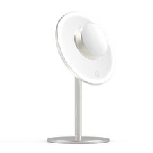 Første LED Lighted Magnetic Makeup Mirror, Metal Sliver